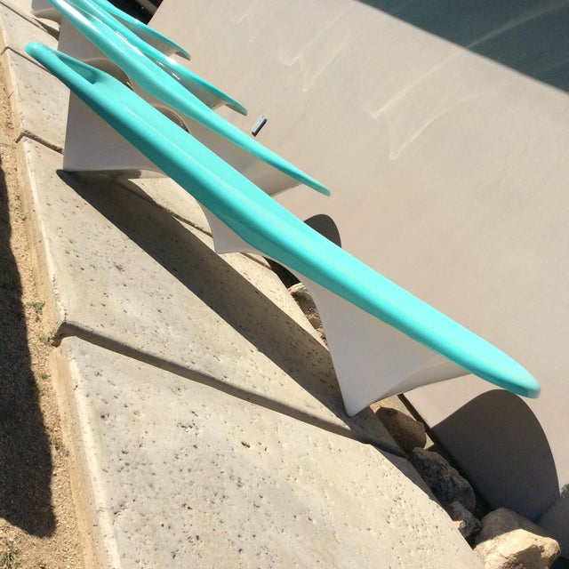 Fibrella Chaise Lounges - Set of 4 For Sale In Palm Springs - Image 6 of 8