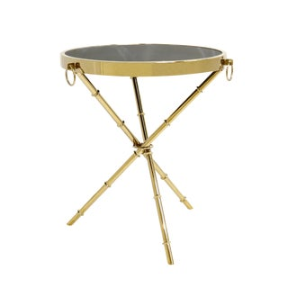 Hollywood Regency Pasargad Home Vicenza Collection Side Table For Sale