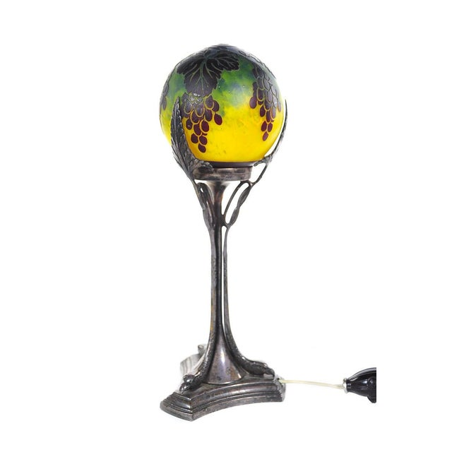 French Art Nouveau Table Lamp - Image 6 of 10