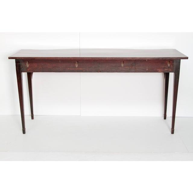 George III 18th Century Hepplewhite Style Mahogany Sideboard For Sale - Image 10 of 12