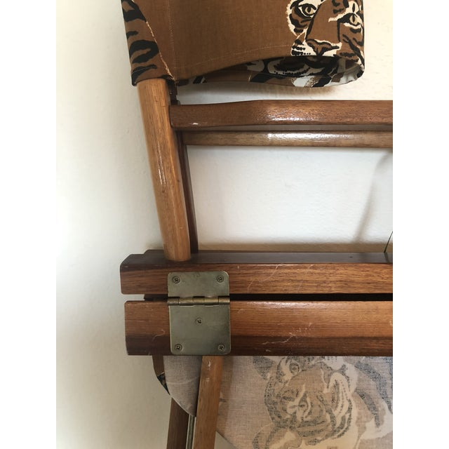 Le Tigre Directors Chair For Sale - Image 9 of 10