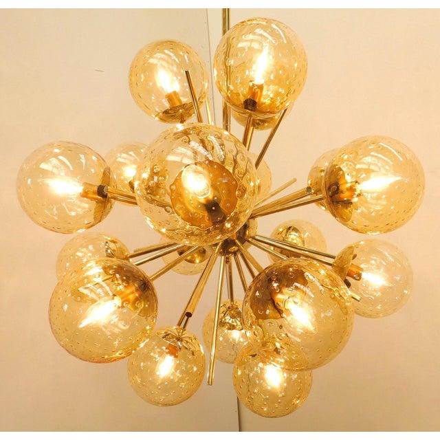 Italian Diciotto Sputnik Chandelier by Fabio Ltd For Sale - Image 3 of 9