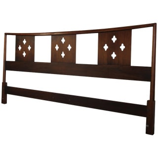 King-Size Heritage Henredon Headboard For Sale