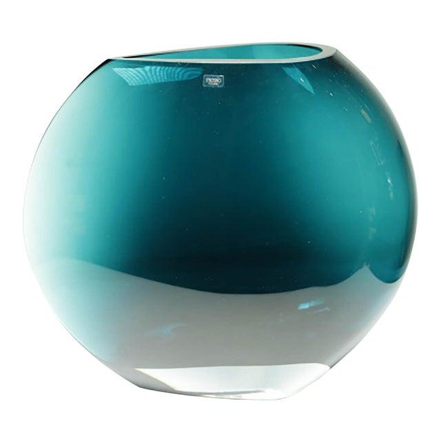 Krosno Poland Large Glass Vase Chairish