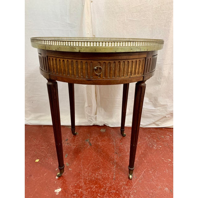 French Louis XVI Style Gueriodon Table For Sale - Image 3 of 9