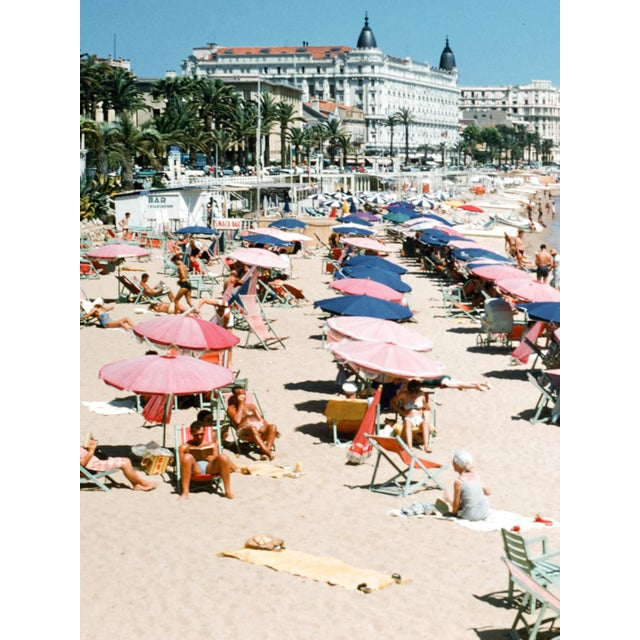 French 1950s French Riviera Vintage 35mm Film Slide Photograph For Sale - Image 3 of 5