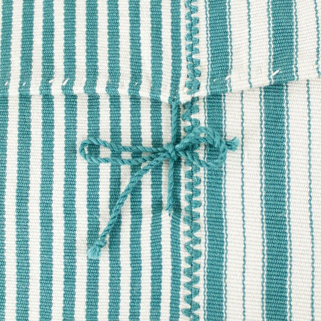 Highlands Striped Pillow Covers - A Pair - Image 2 of 3