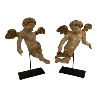 18th Century Angels - A Pair For Sale