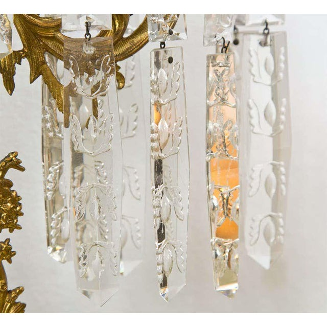 Set of Three French Belle Époque Style Candelabras For Sale - Image 10 of 11