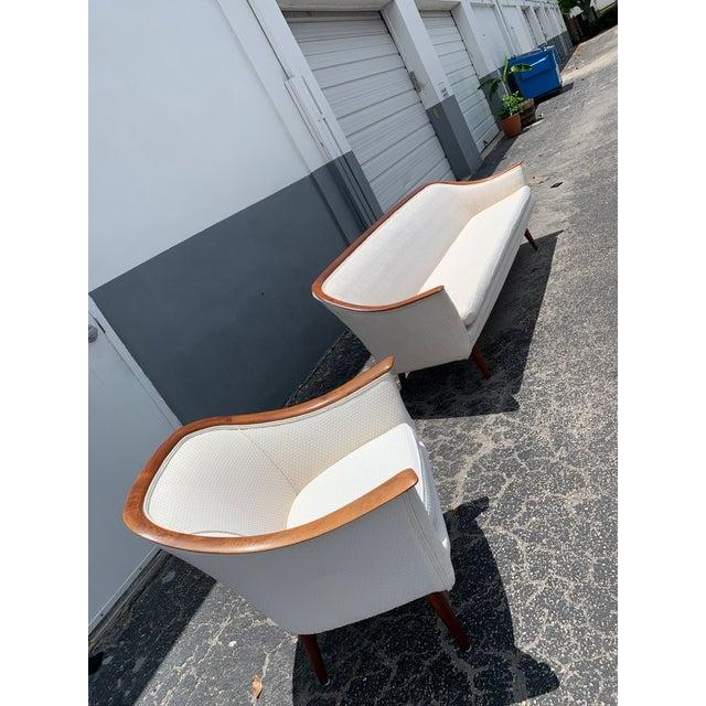 Mid Century Modern Peter Hvidt and Orla Mølgaard for John Stuart Lounge Chair For Sale - Image 11 of 12
