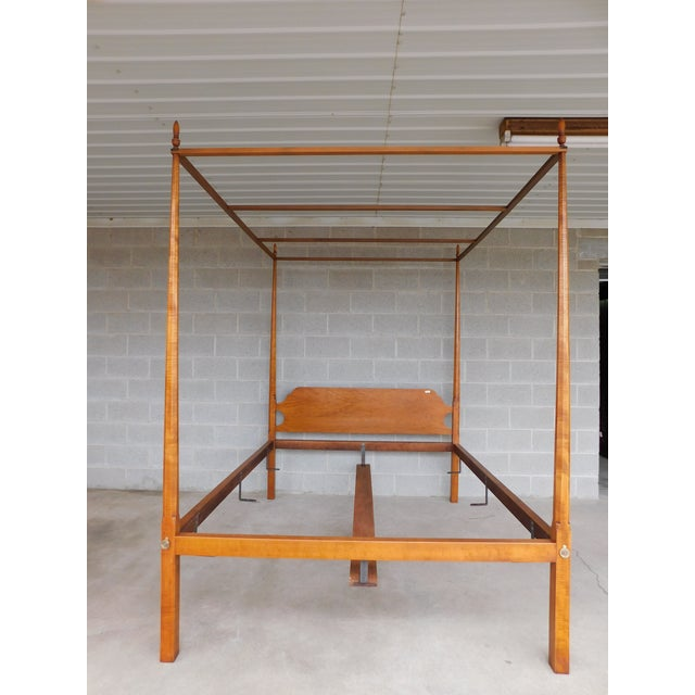 Features Quality Hand Made Solid Construction, Bolt Through Side Rails, Figured Tiger Maple, Removable Tester Stretcher...