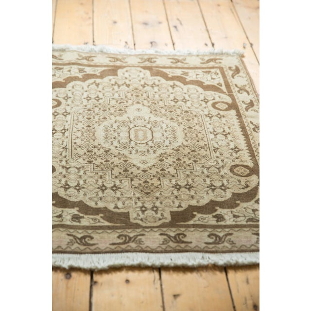 "Old New House Vintage Bijar Square Rug - 2'6"" X 3' For Sale - Image 4 of 9"