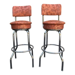 Atomic Bar Stools - a Pair For Sale