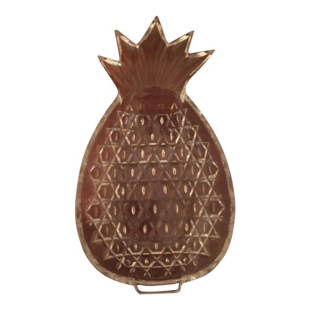 Crystal Pineapple Serving Dish - Image 1 of 6
