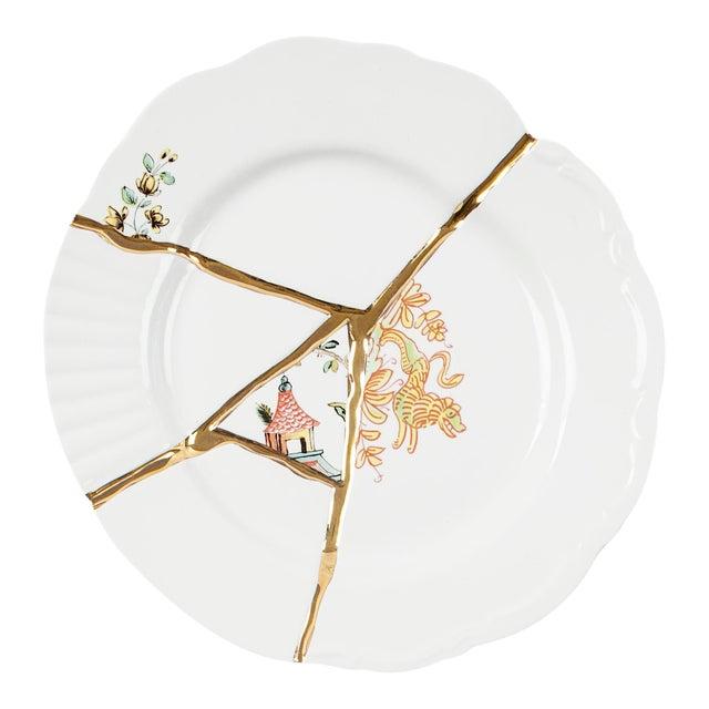 Seletti, Kintsugi Dessert Plate 2, Marcantonio, 2018 For Sale