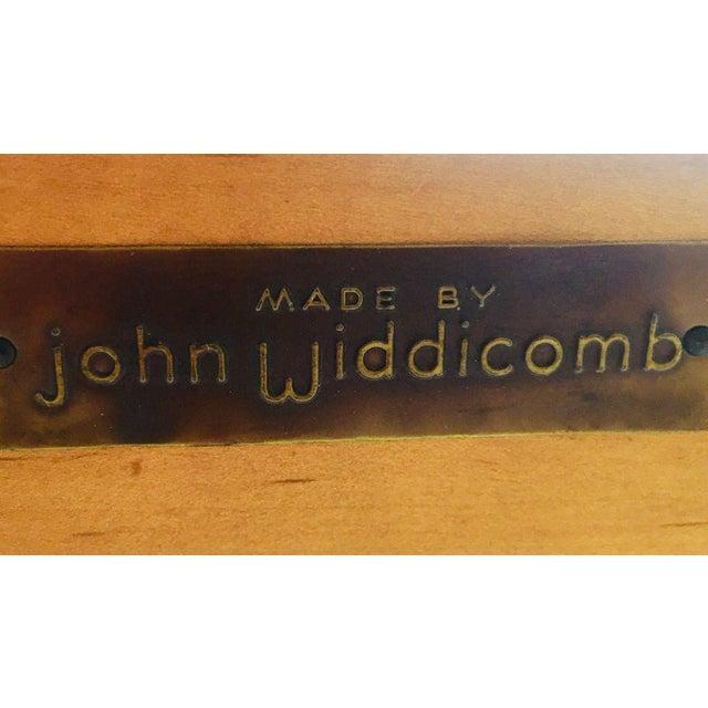 Cherry Wood Midcentury John Widdicomb Cherry King-Size Headboard For Sale - Image 7 of 8