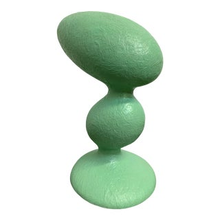 Guglielmo Berchicci for Kundalini Eta Green Fiberglass Table Lamp For Sale
