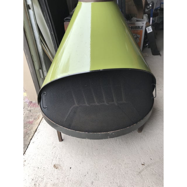 Mid-Century Modern Avocado Fireplace by Preway Mid Century M For Sale - Image 3 of 13
