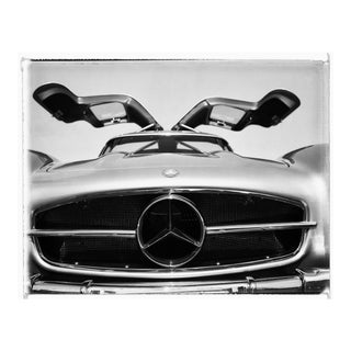 Charles Baker Gullwing Mercedes-Benz Photograph For Sale