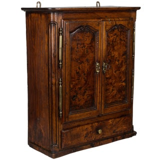18th Century French Provincial Miniature Armoire For Sale