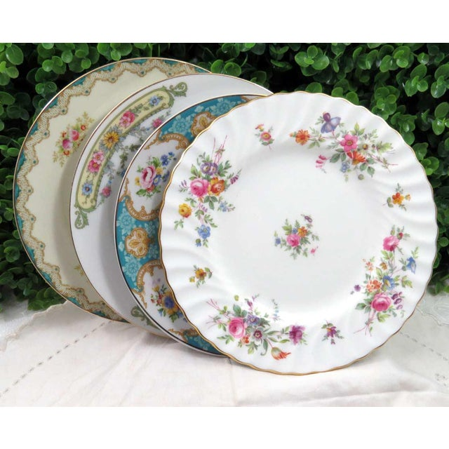 Vintage Mismatched China Dessert Plates - Set of 4 - Image 8 of 8