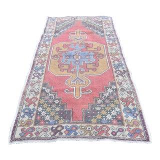 Turkish Anatolian High Quality Medallion Design Oushak Cappadocia Carpet - 4x7ft For Sale