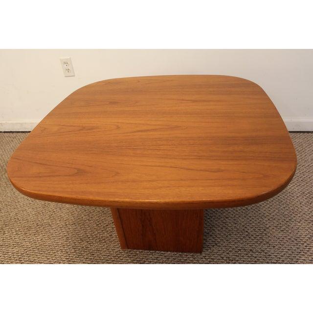 Mid-Century Danish Modern Mobler Teak Side Table - Image 3 of 10