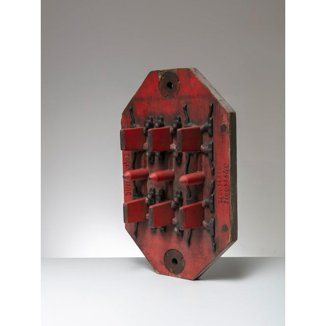 Italian Italian Wood Foundry Mold For Sale - Image 3 of 5