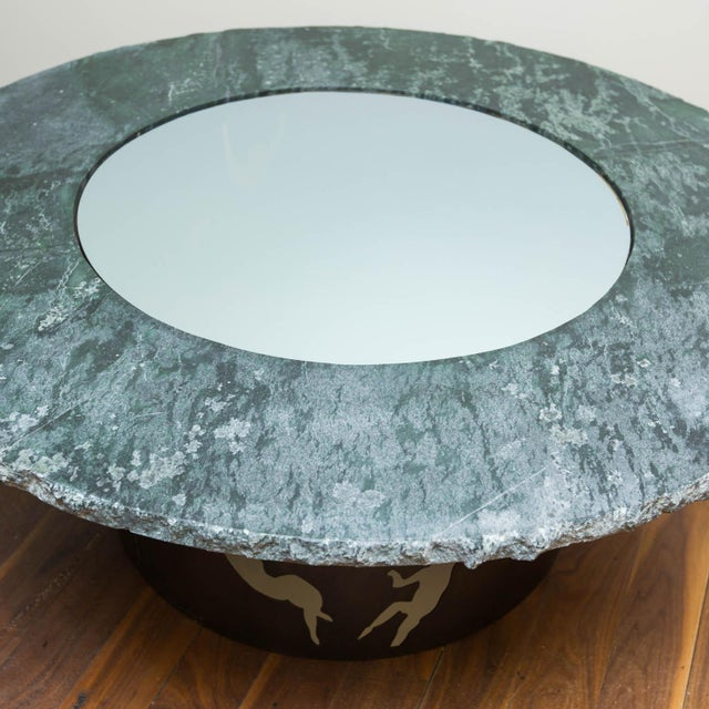 Metal Wishing Well Table by Gregory Clark For Sale - Image 7 of 7