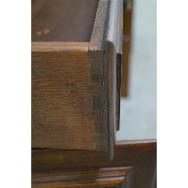 Ethan Allen Royal Charter Oak Nightstands Chests - A Pair - Image 9 of 10