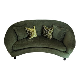 Drexel Heritage Upholstery Ruthanne Sofa With 4 Pillows For Sale