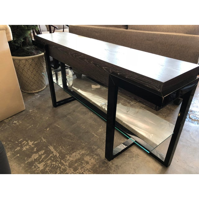 Contemporary Furnitech Signature Home Console Table For Sale - Image 4 of 7