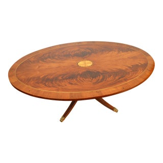 Hekman Regency Copley Place Pedestal Coffee Table For Sale