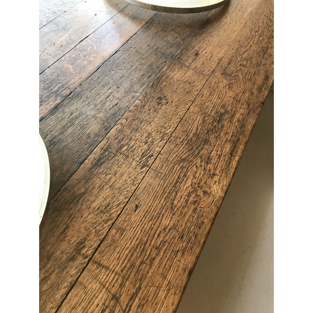 Large Oak Refectory Table For Sale In New York - Image 6 of 8