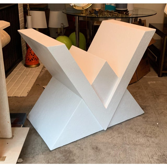 1980s Postmodern Console or Dining Table Base For Sale - Image 4 of 5
