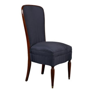 Set of 8 French Art Deco Rosewood Chairs For Sale