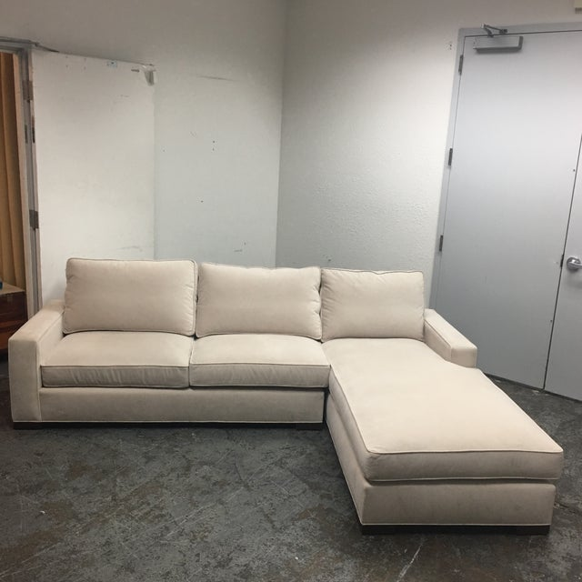 Mullberry home custom upholstered sectional 2 pieces for Mullberry home