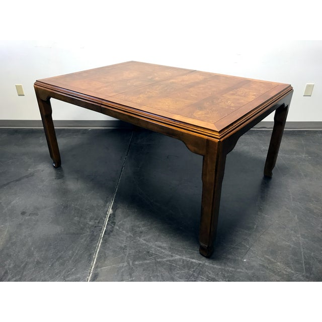 Chinese CENTURY Chin Hua by Raymond K Sobota Asian Chinoiserie Dining Table For Sale - Image 3 of 11
