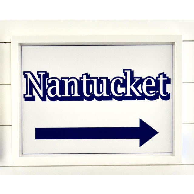 2020s Nantucket, Martha's Vineyard Cape Cod Beach Signs For Sale - Image 5 of 6