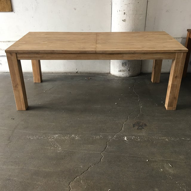 """Design Plus Gallery has an NPD dining table. The Bedford Butterfly table houses its own 19.5"""" leaf. Fully extended the..."""