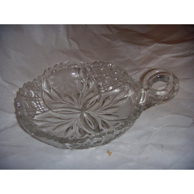 Mid-Century Cut Glass Candy Dish - Image 2 of 5