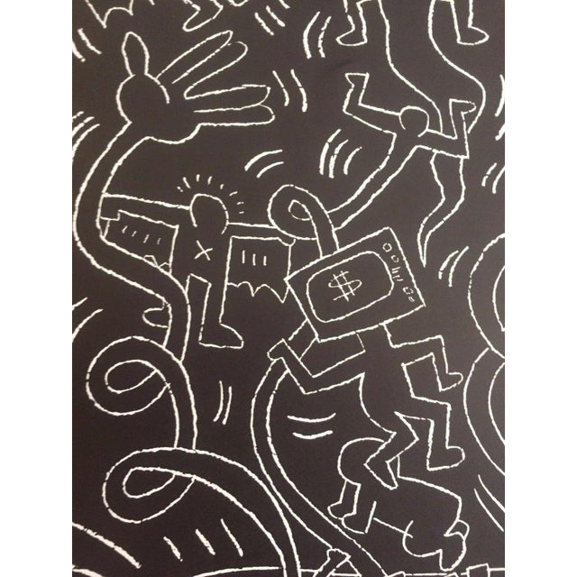 "Keith Haring ""Future Primeval"" Original Offset Lithograph For Sale - Image 9 of 10"
