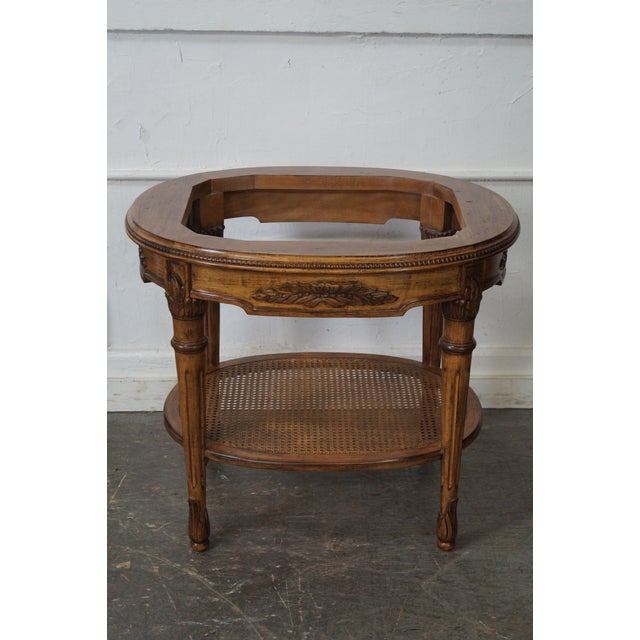 Marble Top Side Table For Sale - Image 10 of 10
