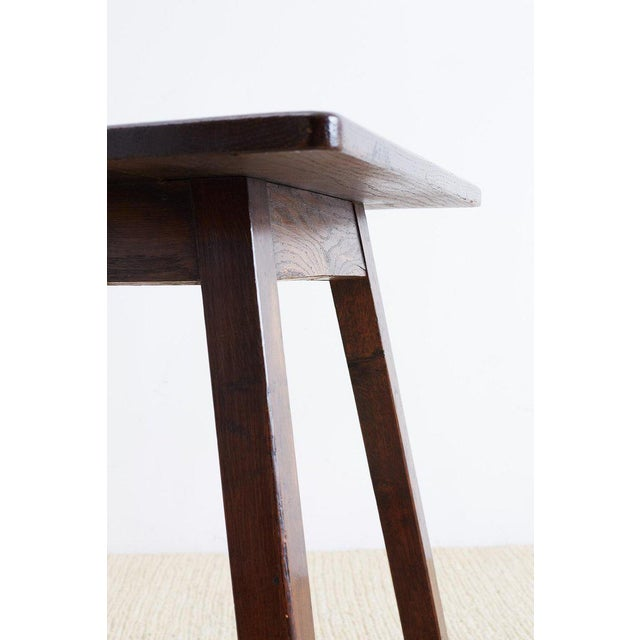 English Oak Tavern or Pub Table For Sale In San Francisco - Image 6 of 13
