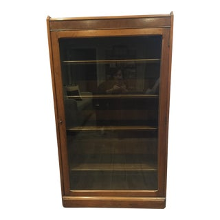 Glass Front Curio Cabinet For Sale