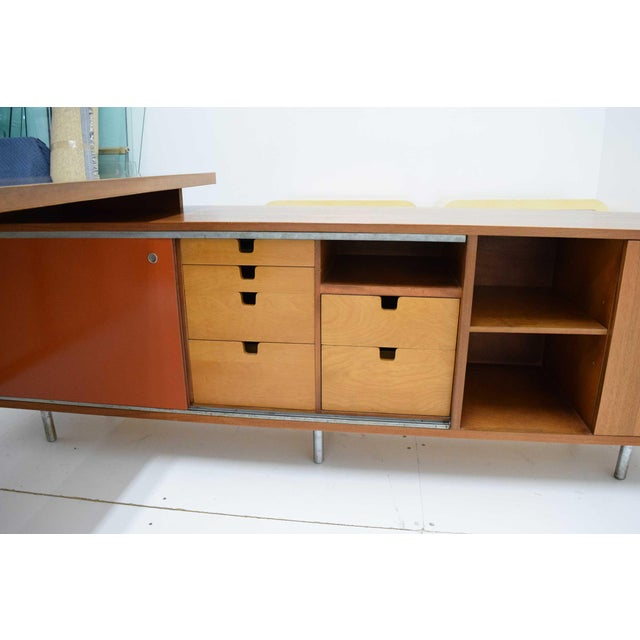 1950s 1952 George Nelson for Herman Miller Executive Desk For Sale - Image 5 of 13