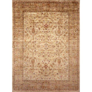 """Pasargad NY Persian Tabriz Design Hand-Knotted Rug - 5'11"""" x 17'11"""""""