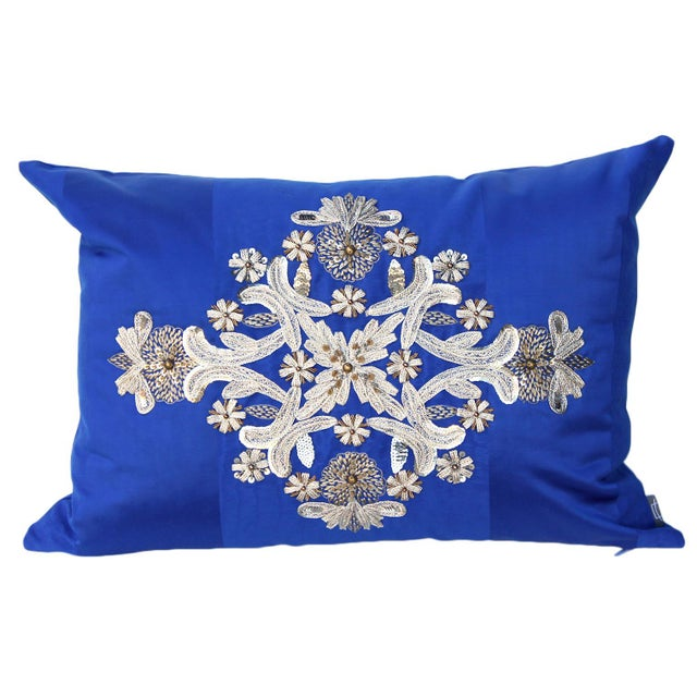 Embroidered Pillow For Sale In San Francisco - Image 6 of 6