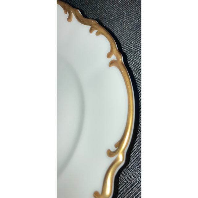 Vintage Hutschenreuther Brighton & Pasco Porcelain Bread & Butter Plates - Set of 12 For Sale In Houston - Image 6 of 13