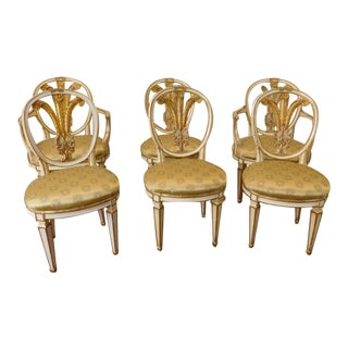 Vintage Amp Used Shabby Chic Dining Chairs Chairish